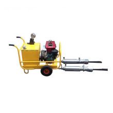 diesel power pack hydraulic stone rock splitter